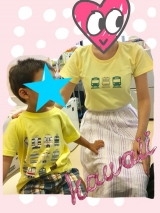 親子お揃いのTシャツを作りました♡の画像(9枚目)