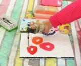 「夏休み特別絵画展【口と足で描いた絵 HEARTありがとう】口と足で描く芸術家協会」の画像(8枚目)