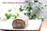 キャラメルマロンロールケーキ☆石屋製菓の画像(2枚目)