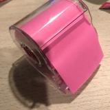 「メモックロールテープ紙タイプ(蛍光紙)」の画像(1枚目)