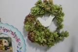 ドライ紫陽花でリースの画像(5枚目)