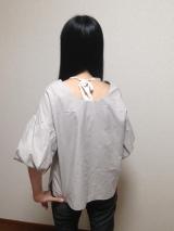 「今年も流行中! ふんわりボリューム袖が可愛い♡ 2wayボリュームスリーブプルオーバー」の画像(2枚目)