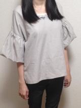 「今年も流行中! ふんわりボリューム袖が可愛い♡ 2wayボリュームスリーブプルオーバー」の画像(1枚目)