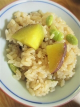 「簡単♡美味しい!鎌田だし醤油でさつまいもご飯♡」の画像(18枚目)