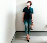 モニター☆titivate・スタンドカラーウエストタックブラウス♥ の画像(1枚目)
