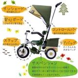 2歳からはベビーカー代わりにアイデス「カンガルー」!日常使いにもフィットするお洒落な三輪車【PR】の画像(1枚目)