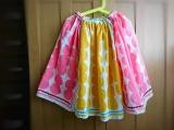 「   久しぶりに♡100均のハンカチ4枚で次女のスカート♡ 」の画像(9枚目)