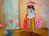 「   久しぶりに♡100均のハンカチ4枚で次女のスカート♡ 」の画像(11枚目)