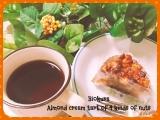 「マクロビスイーツ♪4種の木の実のアーモンドクリームタルト」の画像(1枚目)