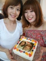 cake.jpの写真ケーキでサプライズ♡の画像(1枚目)
