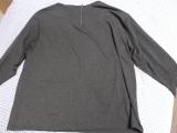 バックジップ長袖Tシャツ の画像(3枚目)