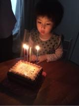 「感謝状ケーキで特別な誕生日に…」の画像(1枚目)