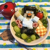 最近のキャラご飯やハロウィンごはん。の画像(5枚目)