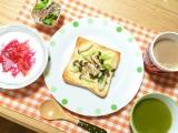 「【おうちごはん】野菜嫌いな方でも安心♡野菜不足を美味しくサポートするグリーンスープスムージー」の画像(1枚目)