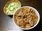 「10月14日 *** 豚肉に塩焼き と 牛丼 ***」の画像(3枚目)