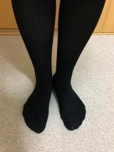 足首からふくらはぎまでキュッと脚すっきり。シャルレのハードサポートソックスの画像(8枚目)