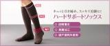 足首からふくらはぎまでキュッと脚すっきり。シャルレのハードサポートソックスの画像(4枚目)