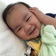 「最高の笑顔♡」【子ども商品券3,000円を3名様】自慢のあかちゃんの写真コンテスト 作品募集の投稿画像