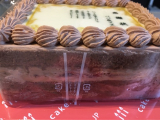 「感謝状ケーキでありがとうを伝えるモニターに参加しました。」の画像(2枚目)