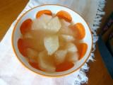 「「オリゴのおかげで梨のコンポート」   (*^_^*)」の画像(1枚目)