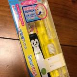 イオンの力で歯がツルツル。子供用歯ブラシでキレイな歯をキープの画像(1枚目)