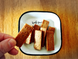 「大食いがコレ1枚で満足?!『マクロビオティッククッキー豆乳きなこ』」の画像(6枚目)