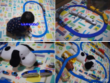 「☆ 有限会社リトルプリンセスさん ふかふかキッズプレイマット 大人も子供も寝転んでふわふわ気持ち良いマット!可愛くて楽しいマット!! ②」の画像(6枚目)