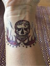 「   ソイインクのタトゥーシールでハッピーハロウィン 」の画像(9枚目)