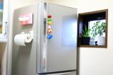 コレ便利!冷蔵庫にペタンッと貼り付く北欧風の収納ラックで見せるキッチン収納にチャレンジ!の画像(3枚目)