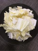 「   レンジで3分、白菜で本格調理 」の画像(3枚目)