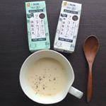 朝ごはん* 温かポカポカ♪コーンスープ♪であさごはん☕モニプラ経由でお試し中のマルサン×タニタのオーガニック豆乳を使用してスープを作りました!!今回、無調整豆乳を使いましたが何がビックリっ…のInstagram画像