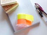 「手帳に保存容器にペタッ!全面のり付ふせんの「メモックロールテープ」」の画像(1枚目)