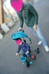 「長男の三輪車*コンボフィット」の画像(1枚目)
