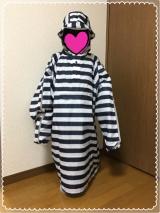 「【Navy】キッズレインポンチョ モニター」の画像(8枚目)