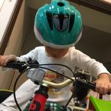【長男3歳】バイク デビュー!の画像(6枚目)
