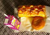 「   焼き芋の豆乳とあんドーナツとアップルレーズンぱん 」の画像(1枚目)