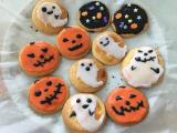 「手作りハロウィンアイシングクッキー」の画像(4枚目)