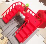 「   BRIO World スマートテックアクショントンネルトラベルセット 」の画像(7枚目)