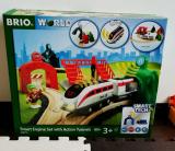 「   BRIO World スマートテックアクショントンネルトラベルセット 」の画像(1枚目)