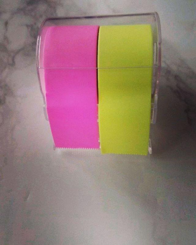 口コミ投稿:ヤマト株式会社さんから、メモックロールテープを頂きました!今回頂いたのは、幅広2…