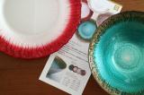【モニプラ】ル・ノーブル◆個性と料理が映える不思議な器「フラッシュ」シリーズに新色3色登場♪の画像(2枚目)