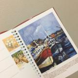来年の手帳は世界の口と足で描く画家たちが描いた絵が豪華な一冊に決定!の画像(4枚目)