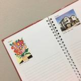 来年の手帳は世界の口と足で描く画家たちが描いた絵が豪華な一冊に決定!の画像(5枚目)