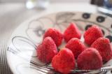 「本物のいちごにチョコをしみ込ませた新食感チョコ ‐ angers(アンジェ)のホワイトいちごチョコ」の画像(2枚目)