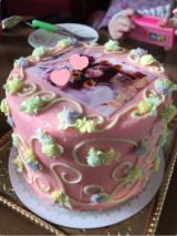 スマホをかざすと動画が流れる写真ケーキの画像(2枚目)