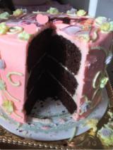 スマホをかざすと動画が流れる写真ケーキの画像(3枚目)