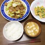 旦那氏作・夜ご飯の画像(2枚目)
