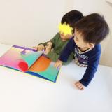 子供の食いつきが凄い不思議な絵本♪新興出版社啓林館 もこ もこもこの画像(8枚目)