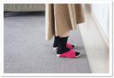 「冷え性の方必見☆AKAISHI*履くだけ冷えとりルームシューズ*」の画像(5枚目)