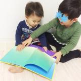 子供の食いつきが凄い不思議な絵本♪新興出版社啓林館 もこ もこもこの画像(5枚目)